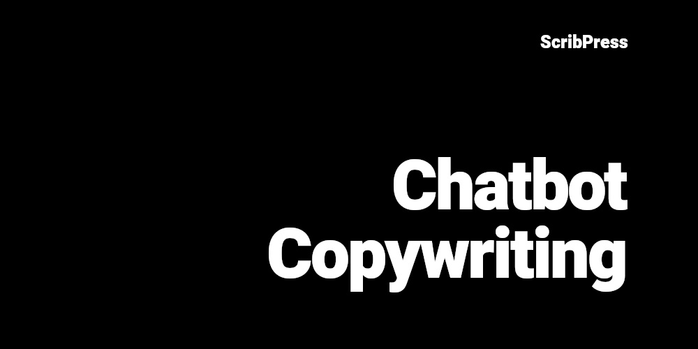 chatbot copywriting blog post banner