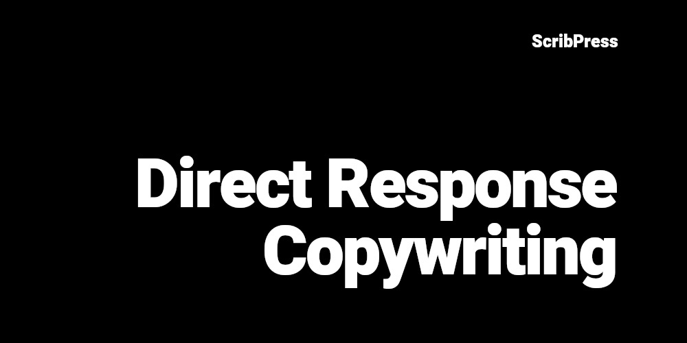 direct response copywriting blog post banner