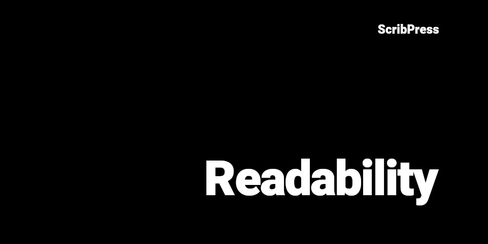 readability blog post banner