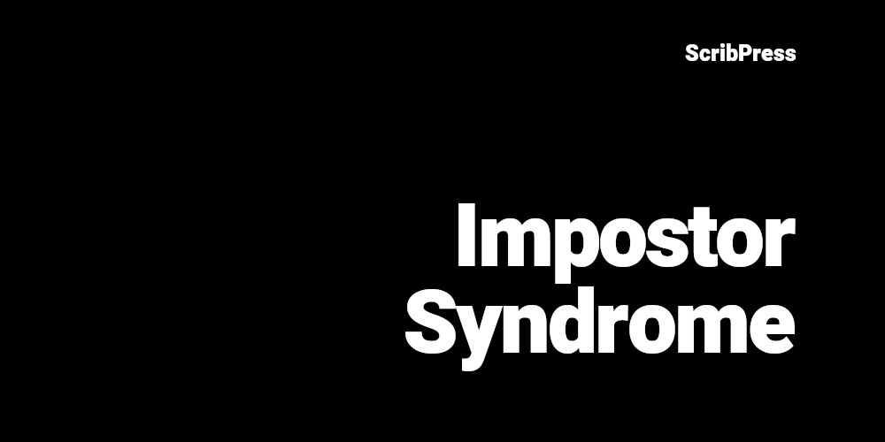impostor syndrome for writers blog post banner