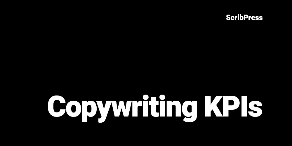 copywriting kpis blog post banner